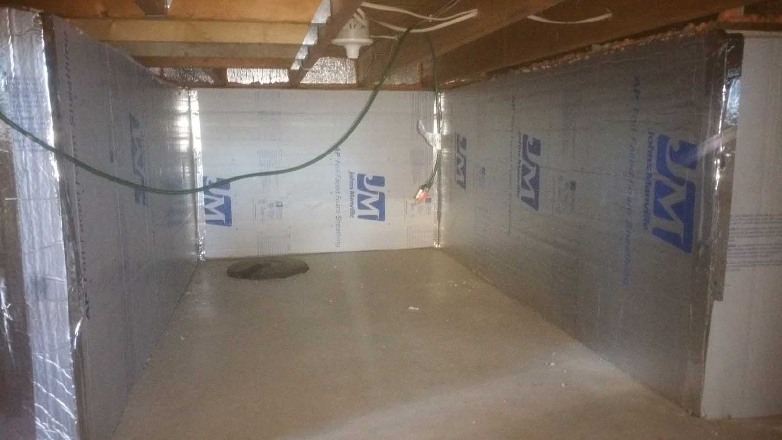 Crawl Space Installation, Thermax, MGT Insulation, Inc.